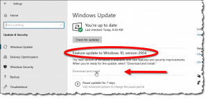 How To Get the Latest Windows 10 Update - Three Techniques and a Recommendation