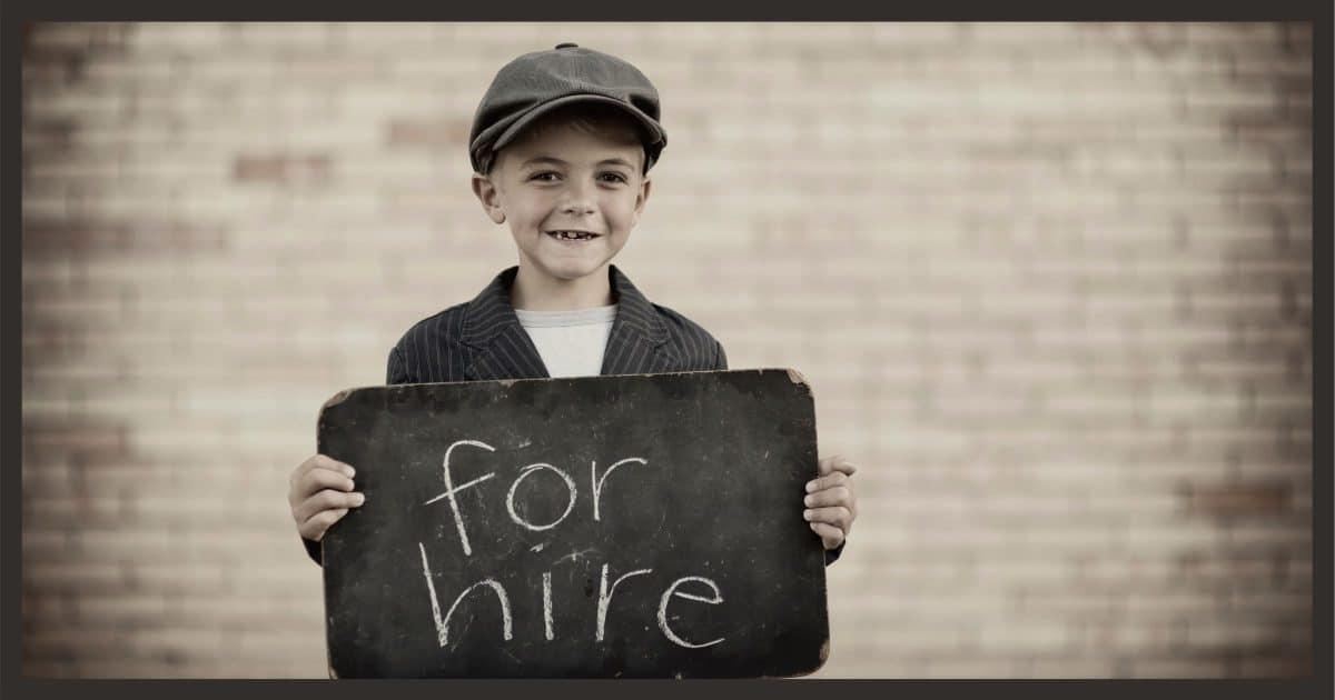 Kid for Hire
