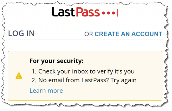 No Email from LastPass? Dealing with Sign-In Problems
